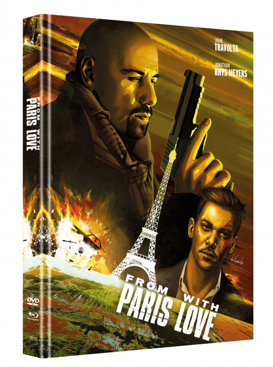 From Paris with Love - Limited Mediabook Edition - Cover A [Blu-ray-DVD]