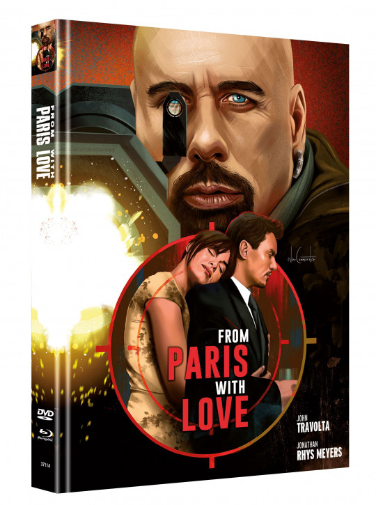 From Paris with Love - Limited Mediabook Edition - Cover B [Blu-ray-DVD]