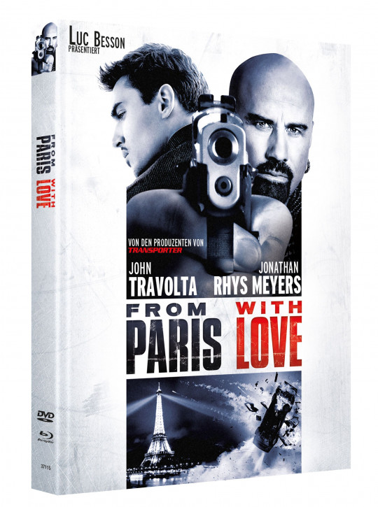 From Paris with Love - Limited Mediabook Edition - Cover C [Blu-ray-DVD]
