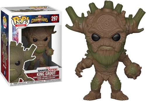 FunKo Marvel Contest Of Champions - Pop Vinyl Figure 297 - King Groot