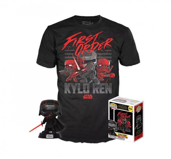 Star Wars Episode IX Kylo Funko POP & T-Shirt