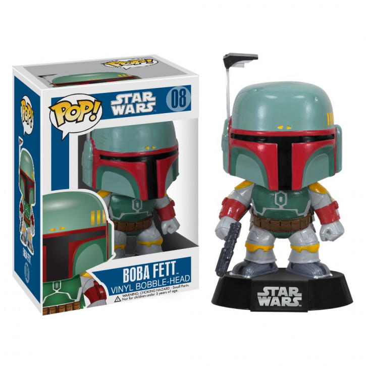 FunKo Star Wars - Pop Vinyl Figure 08 - Boba Fett