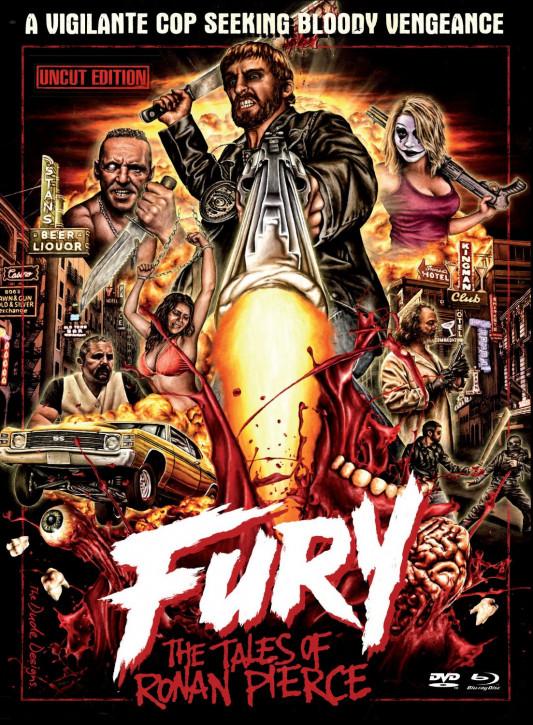 Fury - The Tales of Roman Pierce - Limited Edition [Blu-ray+DVD]