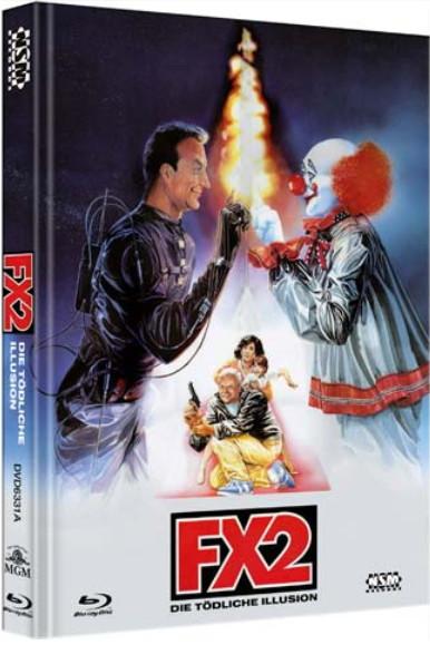 F/X 2 - Tödliche Illusion - Limited Collector's Edition - Cover A [Bluray+DVD]