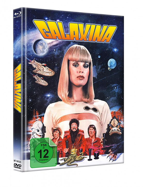 Galaxina - Limited Mediabook - Cover B [Blu-ray+DVD]