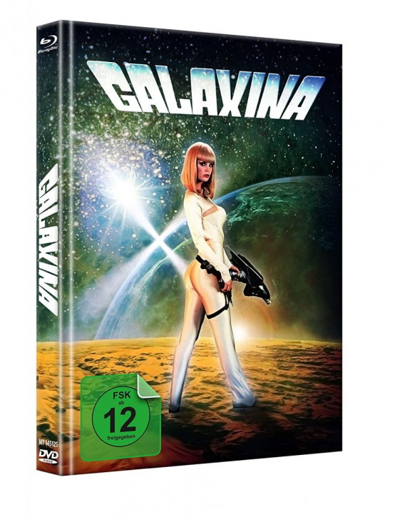 Galaxina - Limited Mediabook - Cover A [Blu-ray+DVD]