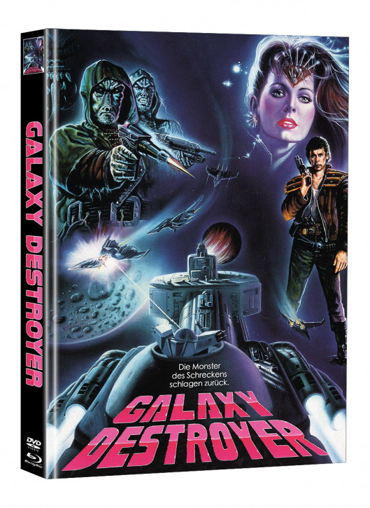 Galaxy Destroyer - Limited Mediabook Edition - Cover A (Super Spooky Stories #172) [Blu-ray+DVD]