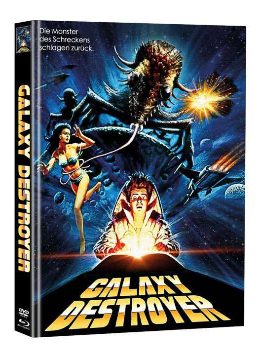 Galaxy Destroyer - Limited Mediabook Edition - Cover B (Super Spooky Stories #172) [Blu-ray+DVD]