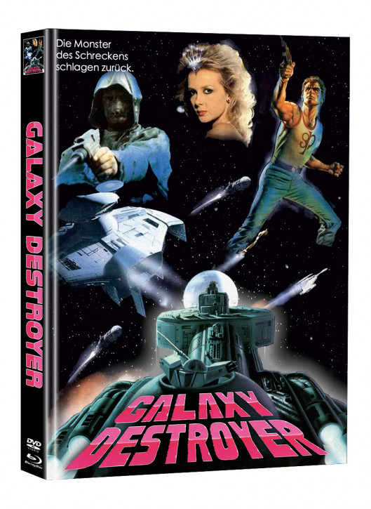 Galaxy Destroyer - Limited Mediabook Edition - Cover C (Super Spooky Stories #172) [Blu-ray+DVD]