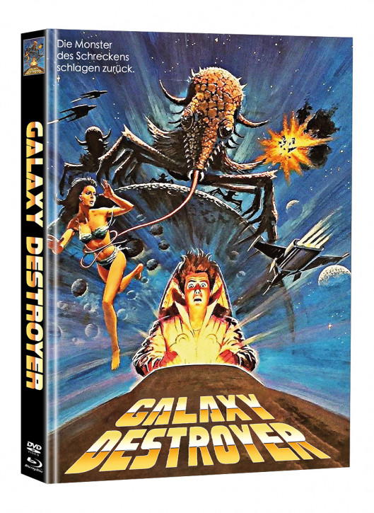 Galaxy Destroyer - Limited Mediabook Edition - Cover D (Super Spooky Stories #172) [Blu-ray+DVD]