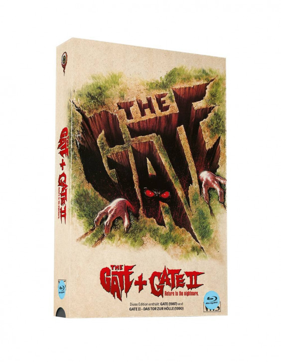 Gate & Gate 2 - Retro VHS-Edition - Cover A [Blu-ray]
