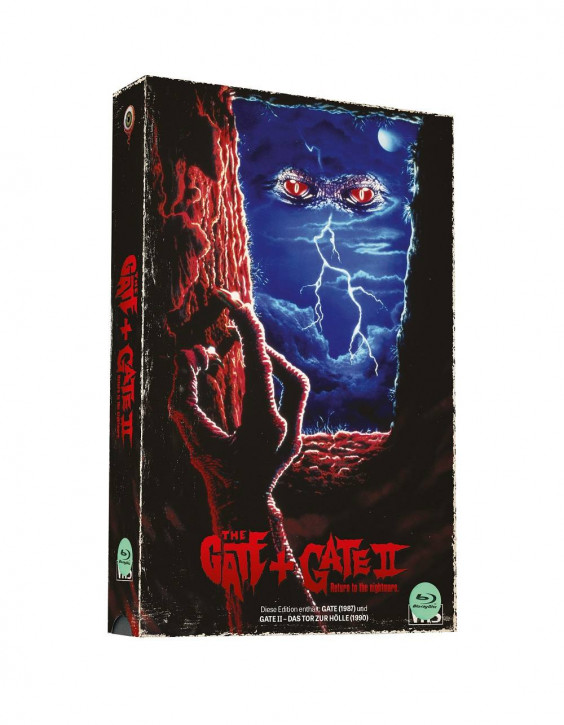 Gate & Gate 2 - Retro VHS-Edition - Cover B [Blu-ray]