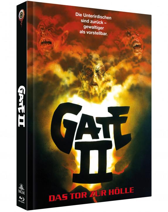 Gate 2 - Das Tor zur Hölle - Limited Collectors Edition Mediabook - Cover A [Blu-ray+DVD]