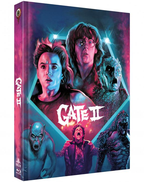 Gate 2 - Das Tor zur Hölle - Limited Collectors Edition Mediabook - Cover C [Blu-ray+DVD]