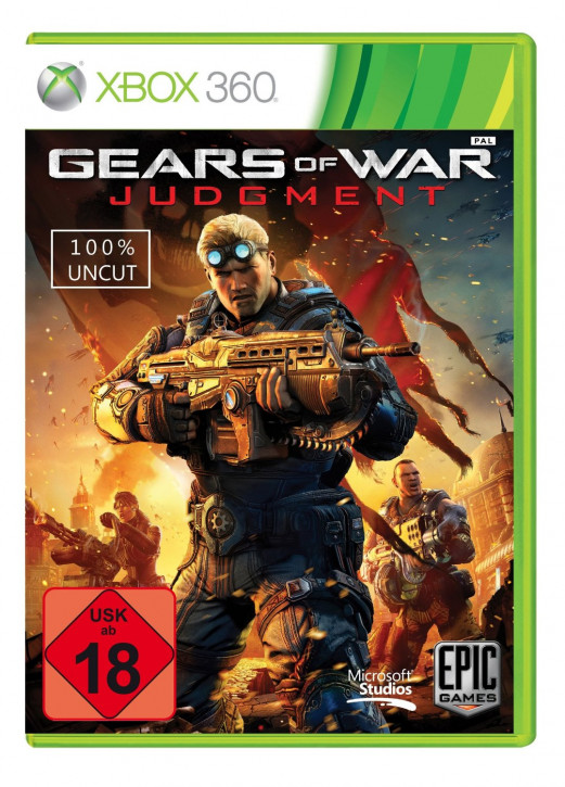 Gears Of War: Judgment (uncut)  [Xbox 360]