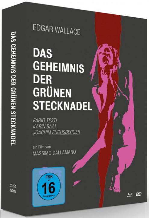 Edgar Wallace: Das Geheimnis der grünen Stecknadel - Mediabook [Blu-ray+DVD]