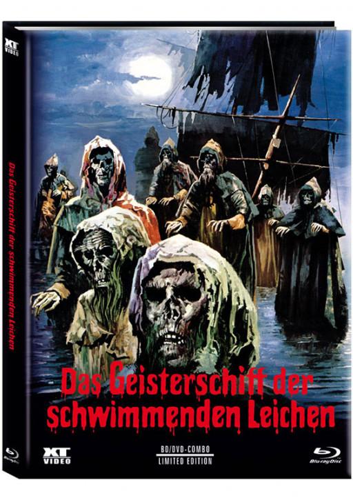 Das Geisterschiff der schwimmenden Leichen - Limited Mediabook - Cover A [Blu-ray+DVD]