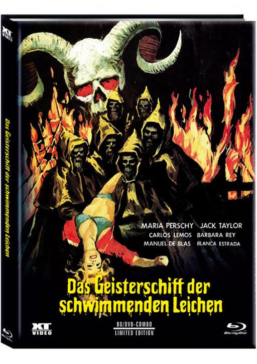 Das Geisterschiff der schwimmenden Leichen - Limited Mediabook - Cover B [Blu-ray+DVD]