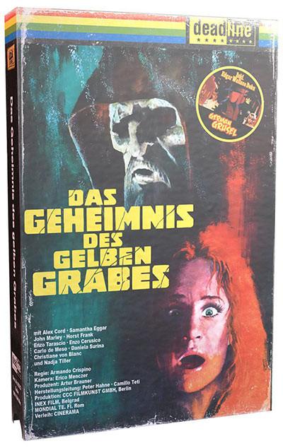 Das Geheimnis des gelben Grabes - VHS Edition [Blu-ray+DVD]