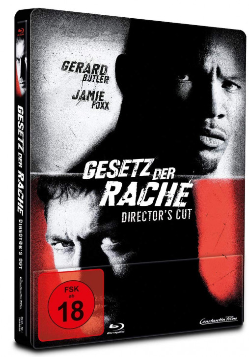 Gesetz der Rache (Directors Cut ) - Limited Steelbook Edition [Blu-ray]