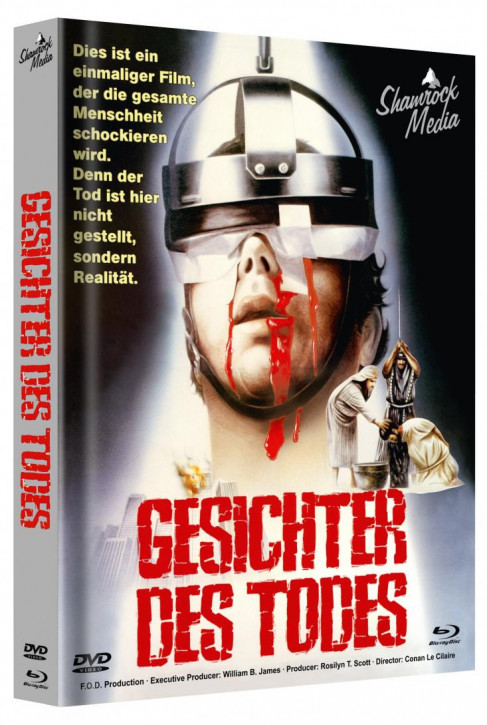 Gesichter des Todes - Mediabook - Cover A [Blu-ray+DVD]