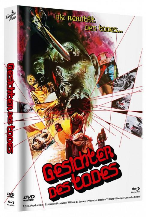 Gesichter des Todes - Mediabook - Cover C [Blu-ray+DVD]