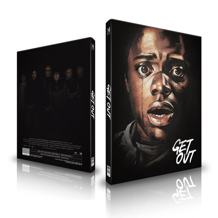 Get Out - Mediabook - Cover A [4K UHD+Blu-ray]