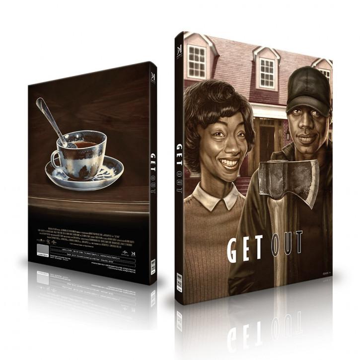 Get Out - Mediabook - Cover B [4K UHD+Blu-ray]