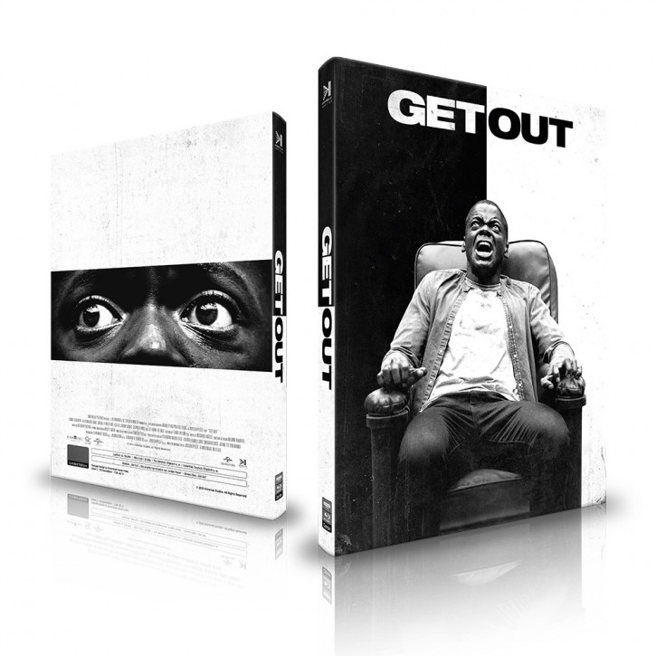 Get Out - Mediabook - Cover C [4K UHD+Blu-ray]