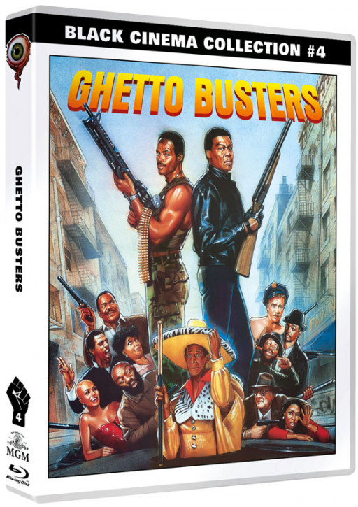 Ghetto Busters - Black Cinema Collection #04 [Blu-ray+DVD]