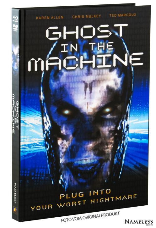 Ghost in the Machine - Limited Mediabook - Cover A [Blu-ray+DVD]