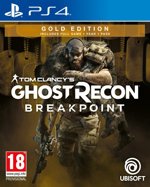 Tom Clancy's Ghost Recon Breakpoint - Gold Edition [PS4]