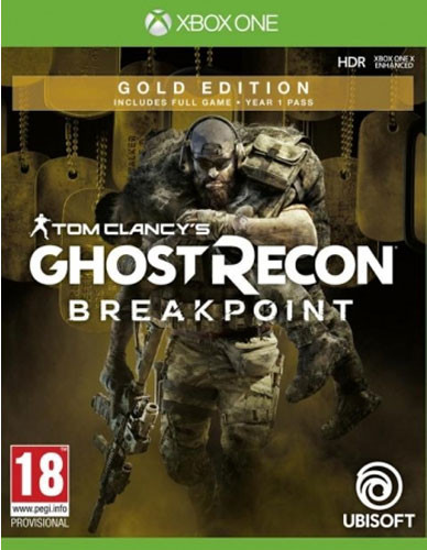 Tom Clancy's Ghost Recon Breakpoint - Gold Edition [Xbox One]