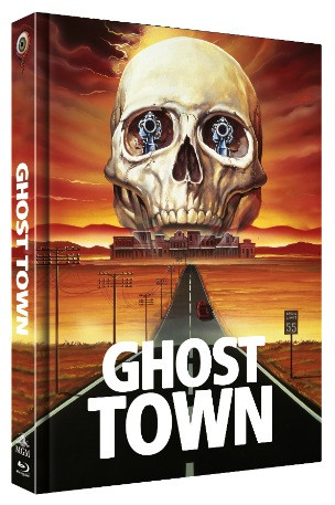 Ghost Town - Limited Collectors Edition Mediabook - Cover A [Blu-ray+DVD]