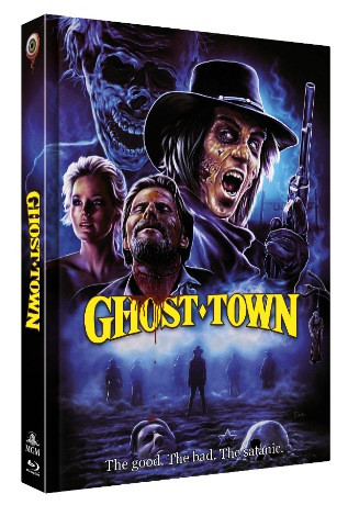 Ghost Town - Limited Collectors Edition Mediabook - Cover C [Blu-ray+DVD]