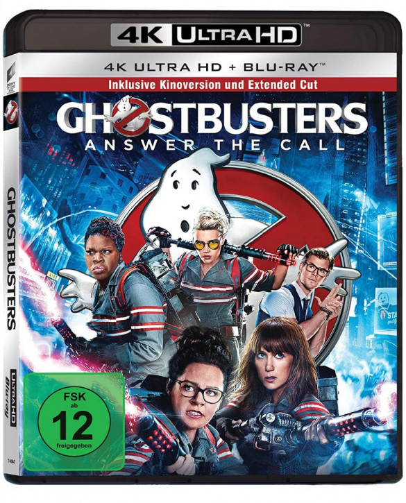Ghostbusters - Extended [4K UHD+Blu-ray]