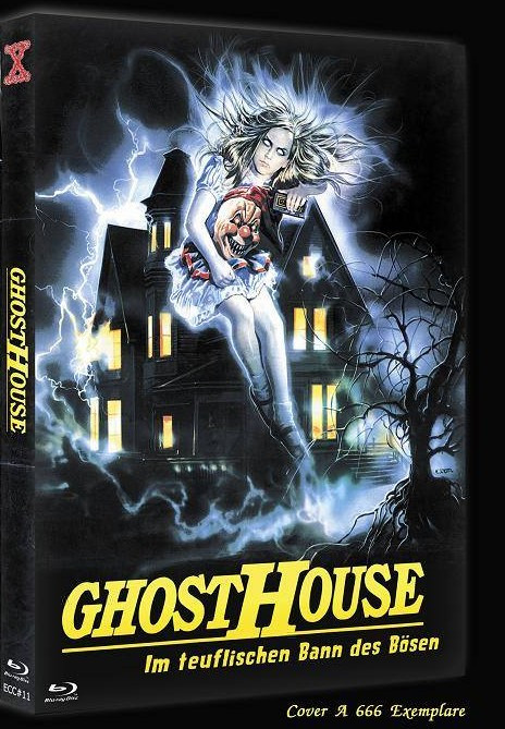 Ghosthouse - Eurocult Collection #011 - Cover A [Blu-ray+DVD]