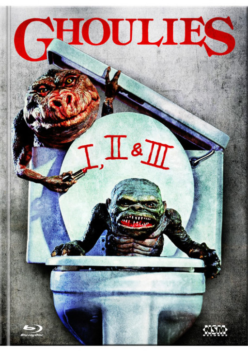 Ghoulies 1 - 3 - Limited Mediabook Edition [Blu-ray]
