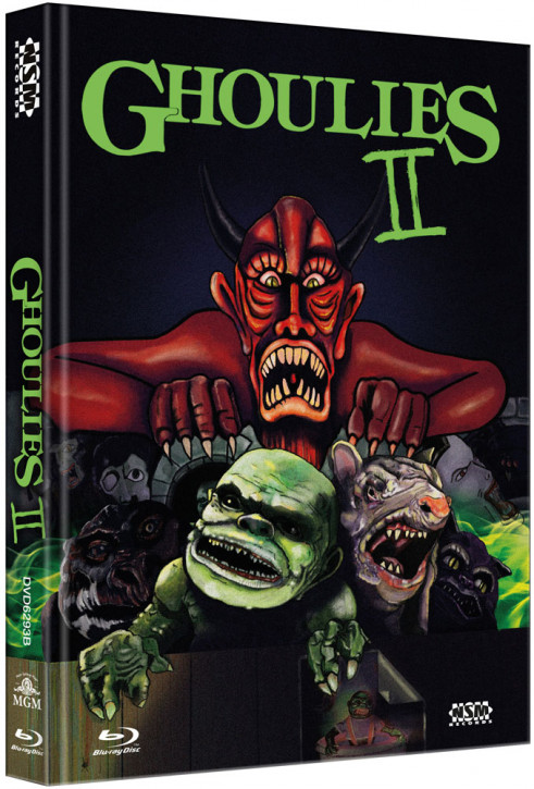 Ghoulies 2 - Limited Collector's Edition - Cover B [Bluray+DVD]