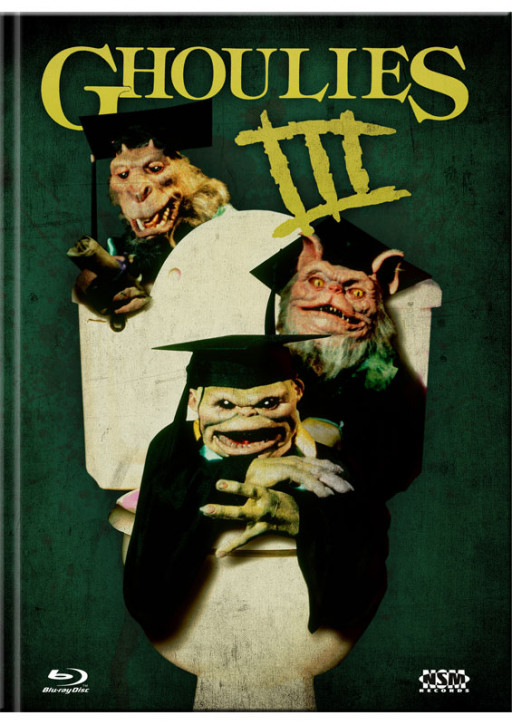 Ghoulies 3 - Limited Mediabook Edition - Cover A [Blu-ray+DVD]