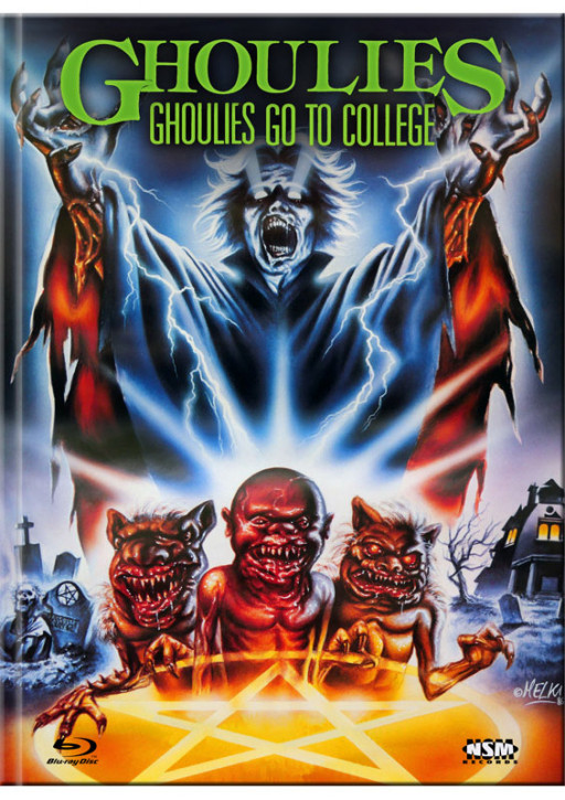 Ghoulies 3 - Limited Mediabook Edition - Cover B [Blu-ray+DVD]