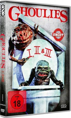 Ghoulies 1 - 3 [DVD]