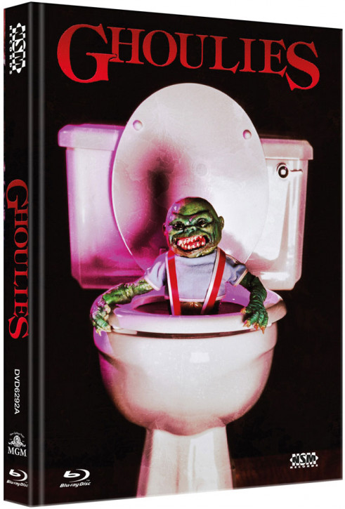 Ghoulies 1 - Limited Collector's Edition - Cover A [Bluray+DVD]