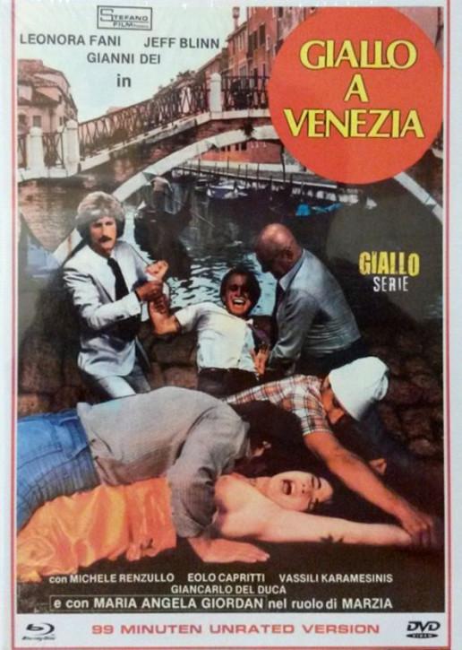 Giallo A Venezia - Eurocult Collection #026 - Mediabook - Cover B [Blu-ray+DVD]