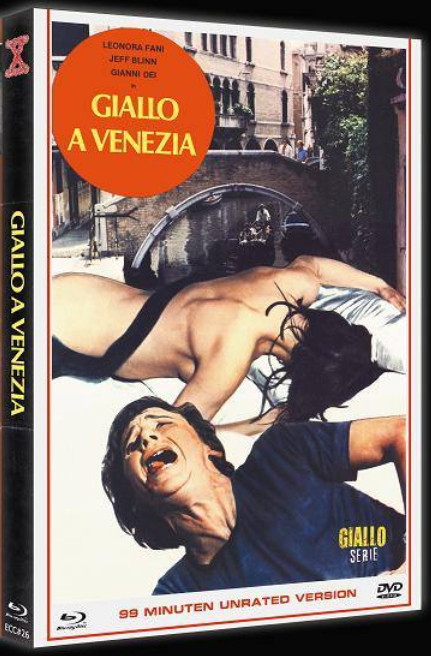 Giallo A Venezia - Eurocult Collection #026 - Mediabook [Blu-ray+DVD]