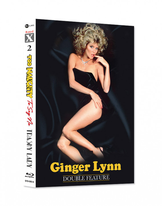 Ginger Lynn Double Feature - Too Naughty To Say No & Trashy Lady - Limited Mediabook Edition - Rated X Nr.02  - Cover A [Blu-ray+CD]