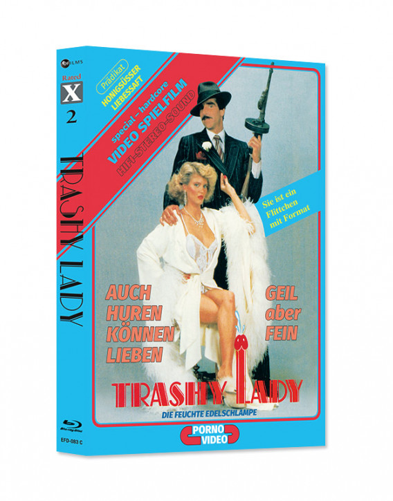 Ginger Lynn Double Feature - Too Naughty To Say No & Trashy Lady - Limited Mediabook Edition - Rated X Nr.02  - Cover C [Blu-ray+CD]