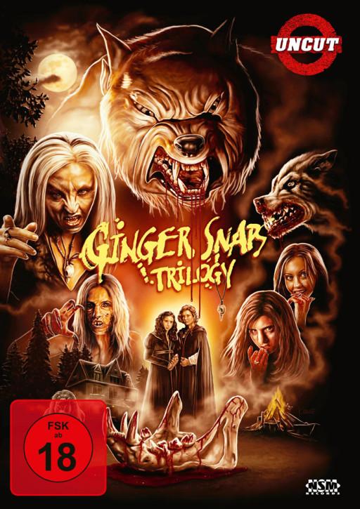 Ginger Snaps 1-3 [DVD]