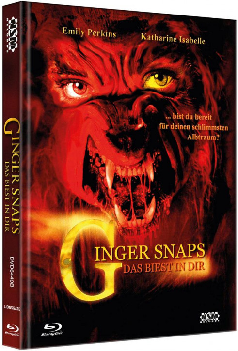 Ginger Snaps - Limited Collector's Edition - Cover B [Bluray+DVD]