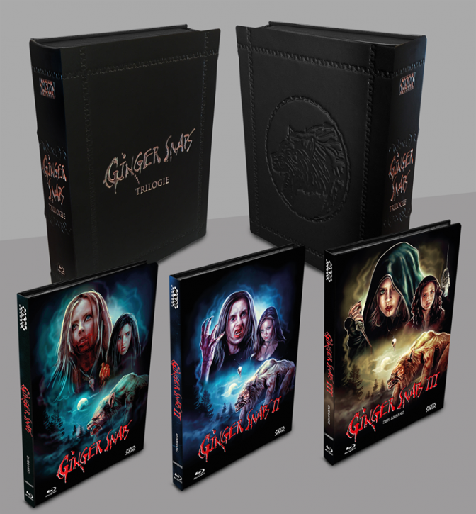 Ginger Snaps 1-3 - Leatherbook Edition [Blu-ray+DVD]